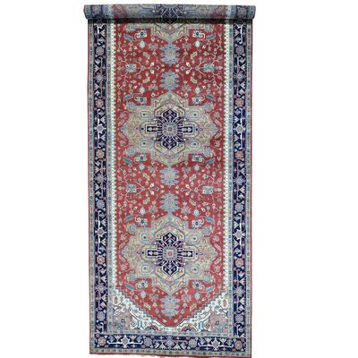 One-of-a-Kind Rueter Oriental Hand-Knotted Area Rug