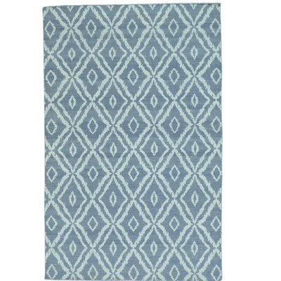 Reversible Kilim Flat Weave Oriental Hand-Knotted Gray Area Rug