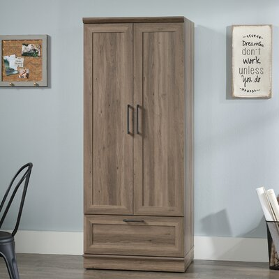 Amboyer Wardrobe Armoire Color: Salt Oak