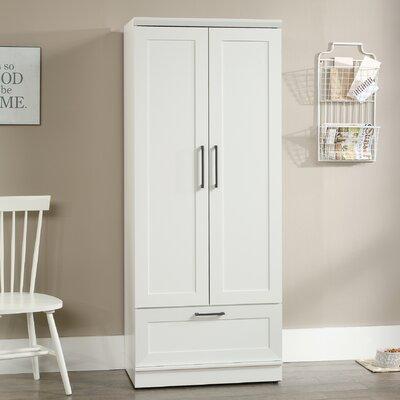 Amboyer Wardrobe Armoire Color: Soft White