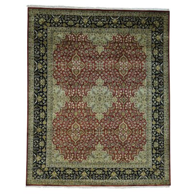 One-of-a-Kind Ruelas New Zealand 300 KPSI Revival Oriental Hand-Knotted Area Rug