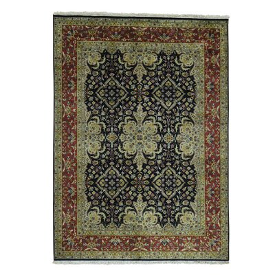 One-of-a-Kind Ruelas New Zealand 300 Kpsi Revival Hand-Knotted Area Rug