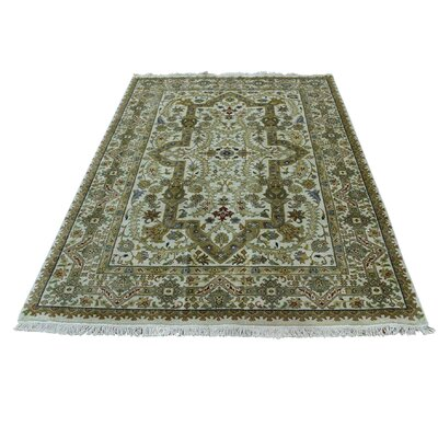 One-of-a-Kind Rudolph New Zealand 300 Kpsi Hand-Knotted Area Rug