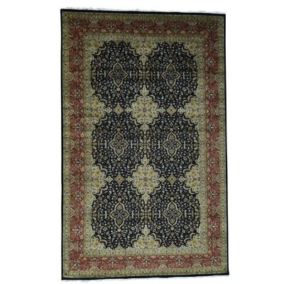 One-of-a-Kind Ruelas Revival 300 Kpsi New Zealand Hand-Knotted Area Rug