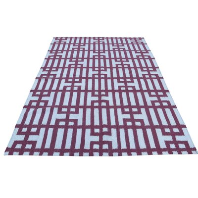 Geometric Durie Kilim Flat Weave Oriental Hand-Knotted Ivory Area Rug