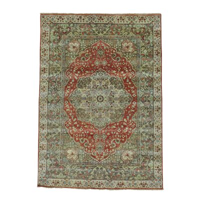 One-of-a-Kind Saltzman Haji Jalili Re-creation Hand-Knotted Area Rug