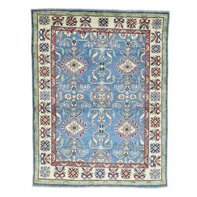 One-of-a-Kind Kempinski Geometric Hand-Knotted Area Rug