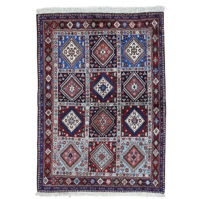 One-of-a-Kind Samford Yalameh Oriental Hand-Knotted Area Rug