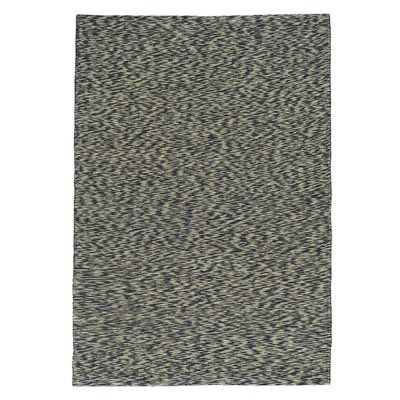 One-of-a-Kind Desmond Leather Chain Stitch Oriental Hand-Knotted Area Rug