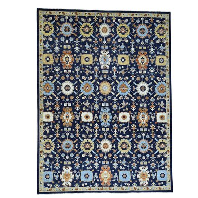 One-of-a-Kind Saltzman Oriental Hand-Knotted Area Rug