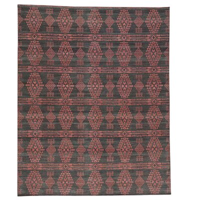 Flat Weave Reversible Durie Kilim Oriental Hand-Knotted Black Area Rug