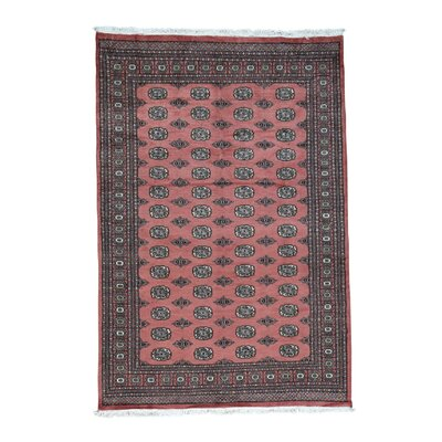 One-of-a-Kind Greaney Bokara Oriental Hand-Knotted Area Rug