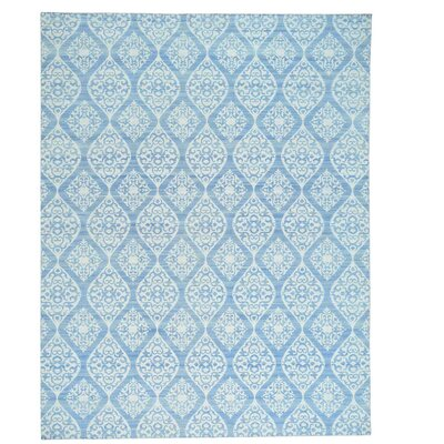 Flat Weave Durie Kilim Reversible Oriental Hand-Knotted Ivory Area Rug