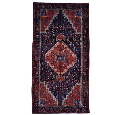 One-of-a-Kind Sager Malayer Oriental Hand-Knotted Area Rug