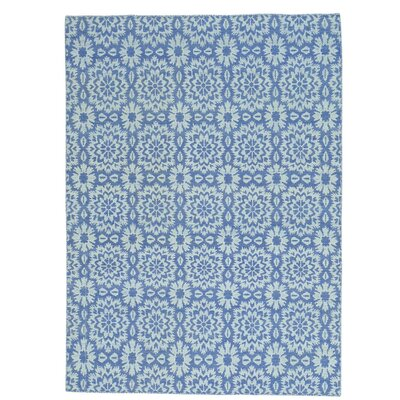 Reversible Flat Weave Kilim Oriental Hand-Knotted Purple Area Rug