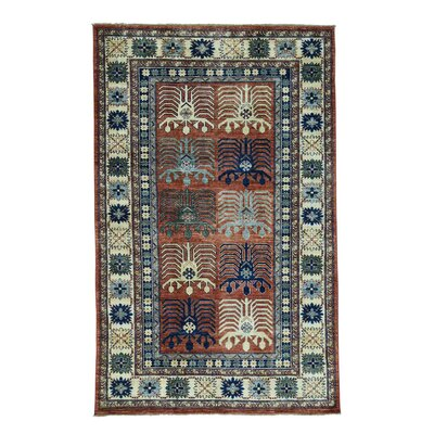 One-of-a-Kind Graybill Ersari Oriental Hand-Knotted Area Rug