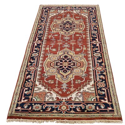 One-of-a-Kind Salvato Serapi Hand-Knotted Area Rug