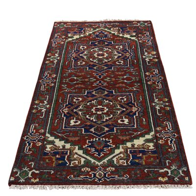 One-of-a-Kind Salvato Serapi Oriental Hand-Knotted Area Rug