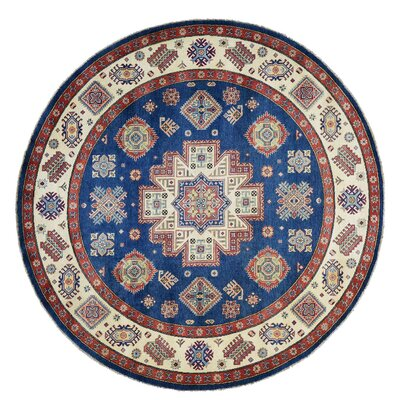 One-of-a-Kind Tillotson Special Geometric Hand-Knotted Area Rug