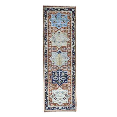 One-of-a-Kind Greear Akstafa Oriental Hand-Knotted Area Rug