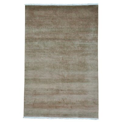 One-of-a-Kind Tasia Modern Oriental Hand-Knotted Area Rug