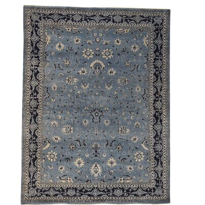 One-of-a-Kind Salyers Tone on Tone Oriental Hand-Knotted Silk Area Rug