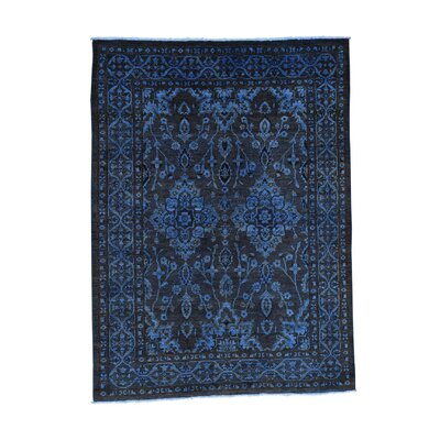 One-of-a-Kind Grabowski Cast Overdyed Hand-Knotted Area Rug