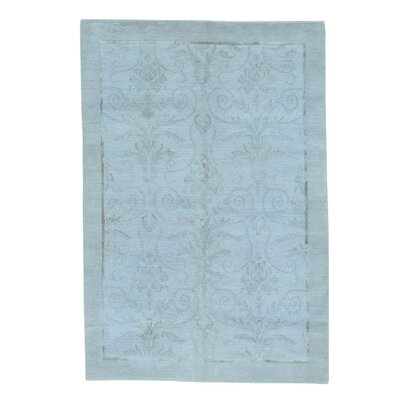 One-of-a-Kind Eberhard Oriental Hand-Knotted Silk Area Rug