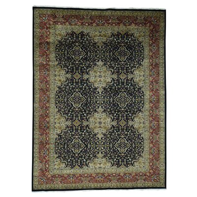 One-of-a-Kind Ruelas Revival New Zealand 300 KPSI Hand-Knotted Area Rug