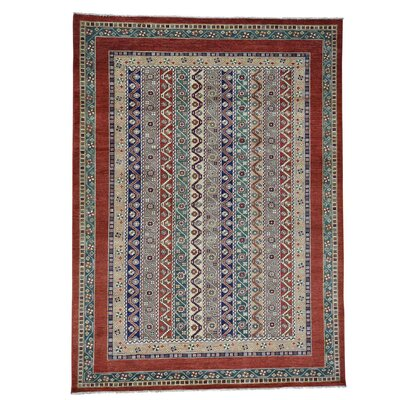 One-of-a-Kind Tillett Super Khorjin Shawl Hand-Knotted Area Rug