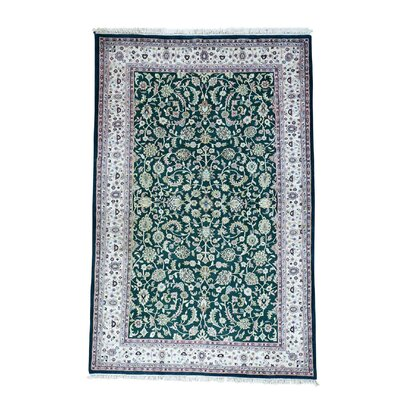 One-of-a-Kind Salzer Sino 250 Kpsi Hand-Knotted Area Rug