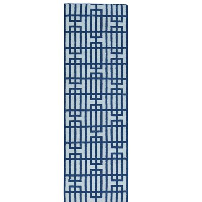 Reversible Flat Weave Durie Kilim Hand-Knotted Wool Ivory Area Rug