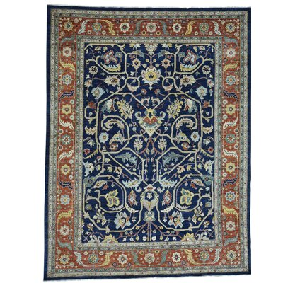 One-of-a-Kind Rueter Peshawar All-Over Hand-Knotted Area Rug