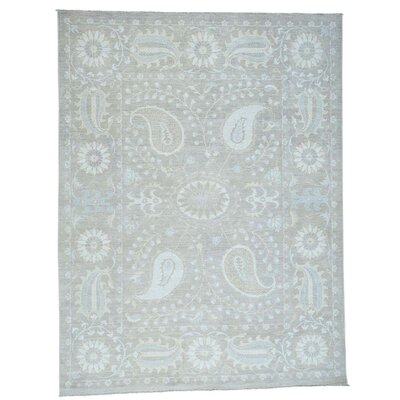 One-of-a-Kind Kells-Connor Suzani Hand-Knotted Area Rug