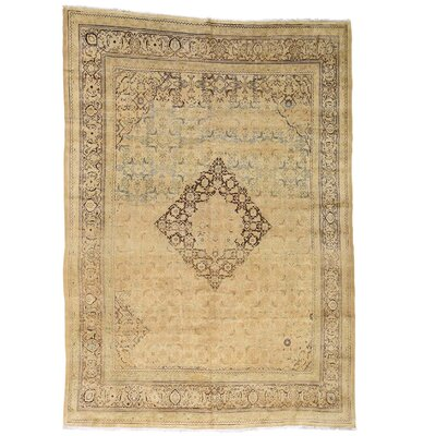 One-of-a-Kind Lear Vintage Oriental Hand-Knotted Area Rug
