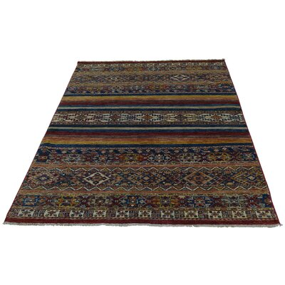 One-of-a-Kind Tillett Super Khorjin Oriental Hand-Knotted Area Rug