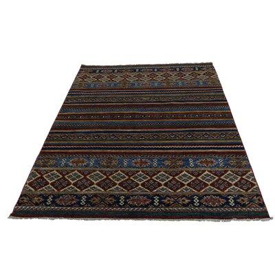 One-of-a-Kind Tillett Super Khorjin Oriental Hand-Knotted Area Rug