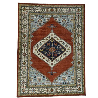 One-of-a-Kind Gowan Bakshaish Oriental Hand-Knotted Area Rug