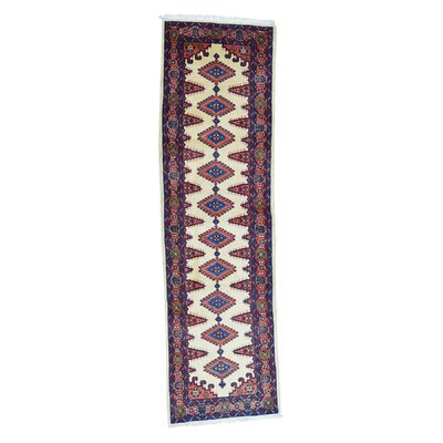 One-of-a-Kind Kenilworth Viss Oriental Hand-Knotted Area Rug