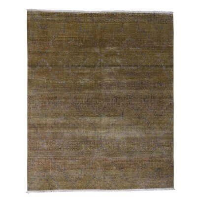 One-of-a-Kind Rothermel Oriental Hand-Knotted Silk Area Rug