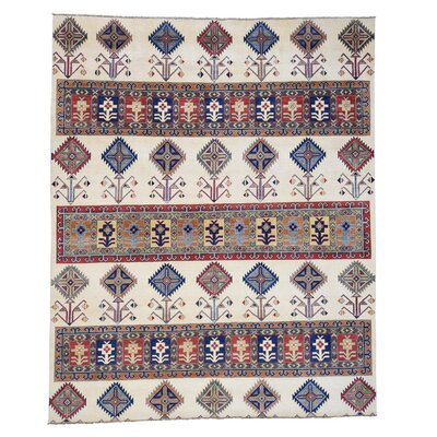 One-of-a-Kind Tillman Special Hand-Knotted Ivory Area Rug