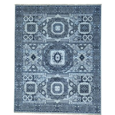 One-of-a-Kind Greenough Oriental Hand-Knotted Silk Area Rug