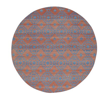 Durie Kilim Reversible Flat Weave Hand-Knotted Red Area Rug