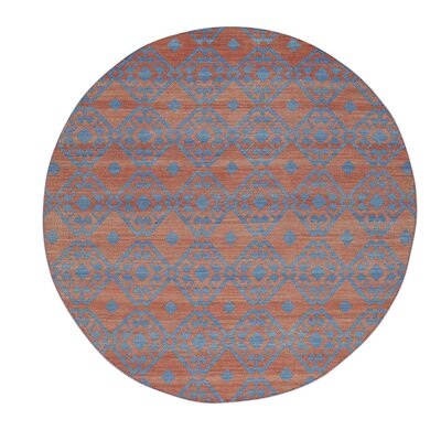 Durie Kilim Flat Weave Reversible Hand-Knotted Red Area Rug