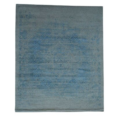 One-of-a-Kind Ebert Broken Hand-Knotted Silk Area Rug
