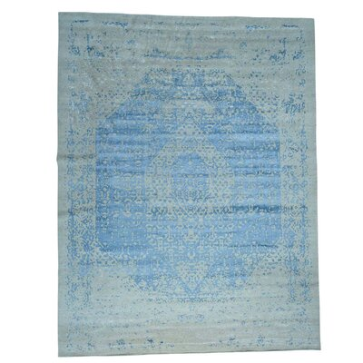 One-of-a-Kind Ebert Hand-Knotted Silk Area Rug