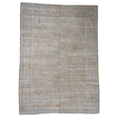 One-of-a-Kind MaryLou Vintage Worn Oriental Hand-Knotted Area Rug