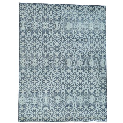 One-of-a-Kind Ledford Geometric Oriental Hand-Knotted Area Rug