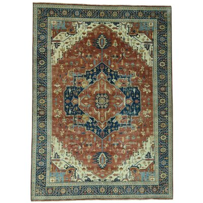 One-of-a-Kind Leela Heriz Re-creation Hand-Knotted Area Rug