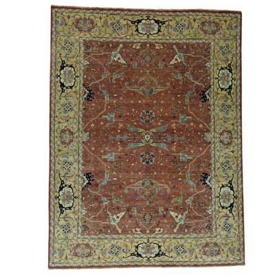 One-of-a-Kind Salzman Re-creation Oriental Hand-Knotted Area Rug